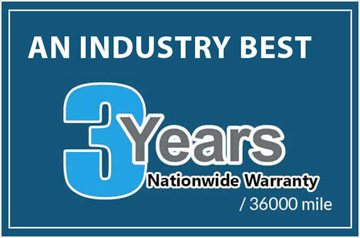 3 years auto repair warranty